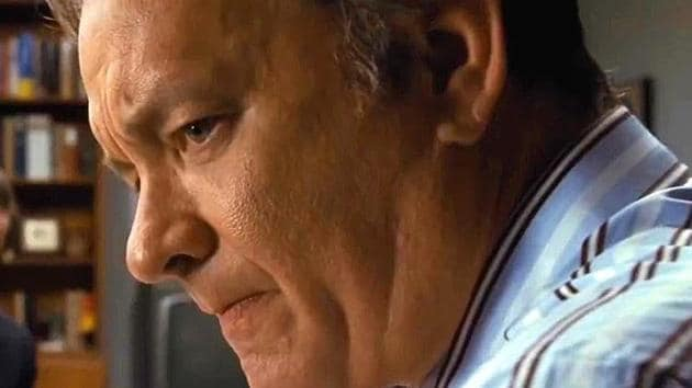 Tom Hanks in a still from Steven Spielberg's The Post.