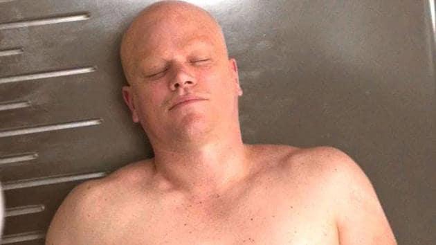 Matt Damon in a still from Alexander Payne's Downsizing.