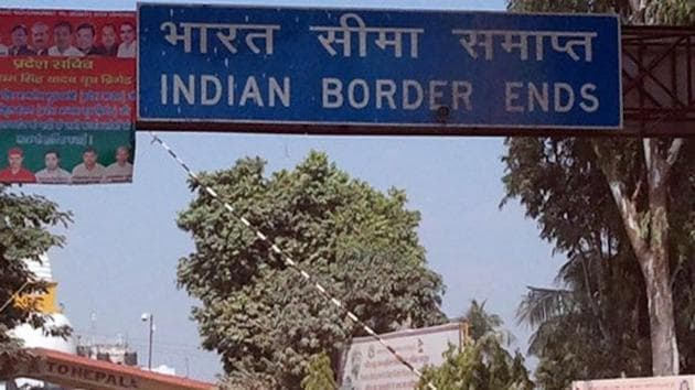 Indian and Nepalese governments had erected around 8,000 pillars to demarcate the boundary along the 1,749-kilometer border.(PTI FILE PHOTO)
