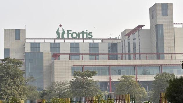 Fortis Hospital in Gurgaon.(Sanjeev Verma/HT File Photo)