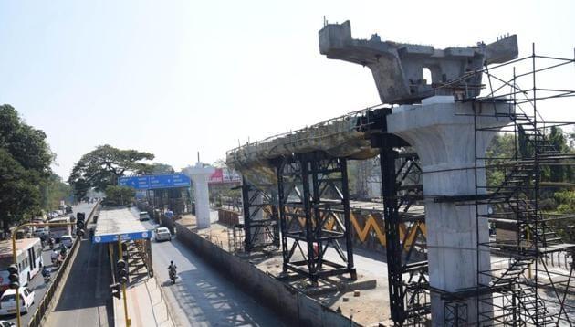 Maha-Metro has already started the Metro work between Pimpri-Chinchwad and Range Hills as well as between Vanaz and Shivajingar Godown.(HT PHOTO)