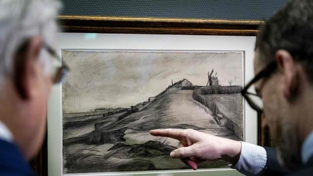Rare, forgotten drawings by Van Gogh are on display in Netherlands. See pics
