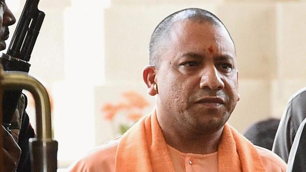 Yogi on Thursday reviewed the implementation of the project at a high-level meeting which was attended by senior officers from the centre and the state government.(HT)