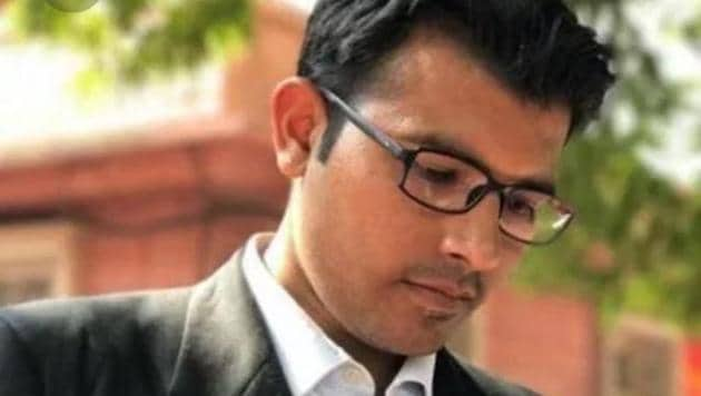 Prashant Patel Umrao, the 31-year-old lawyer who filed the office of profit petition. (Photo: Sourced)