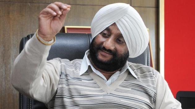 Mohali mayor Kulwant Singh(Ravi Kumar/HT)