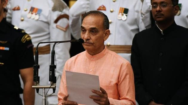 Union minister Satyapal Singh said our ancestors have nowhere mentioned that they saw an ape turning into a man.(AP File Photo)