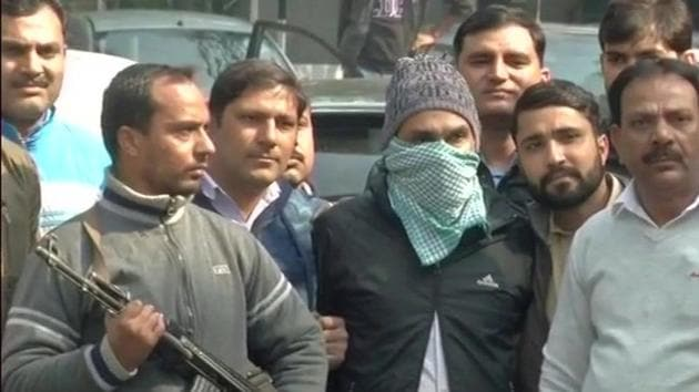 Abdul Subhan Qureshi alias Tauqeer, an alleged co-founder of terrorist outfit Indian Mujahideen (IM), was listed in the National Investigation Agency's (NIA) most-wanted list(ANI Photo)