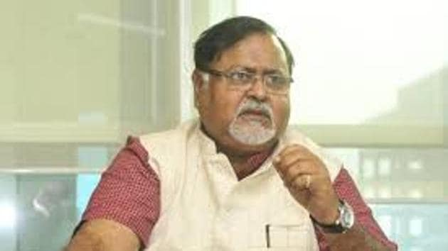 Partha Chatterjee, who heads Bengal's education and parliamentary affairs departments apart from wearing the hat of the secretary general of Trinamool Congress, does not get much time for leisure. But whenever he gets some, he loves spending it with his six dogs.(HT Photo)