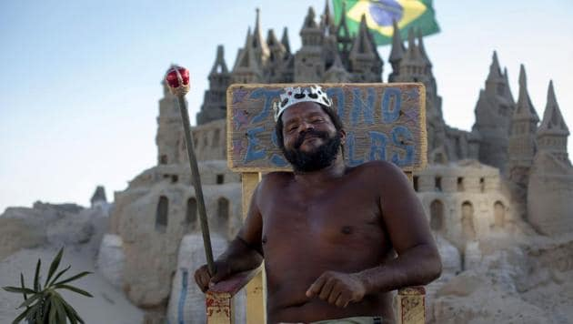 <p>They say a man&rsquo;s home is his castle and Marcio Matolias has lived in his - albeit made of sand - on a beach in Rio de Janeiro for the past 22 years. In...