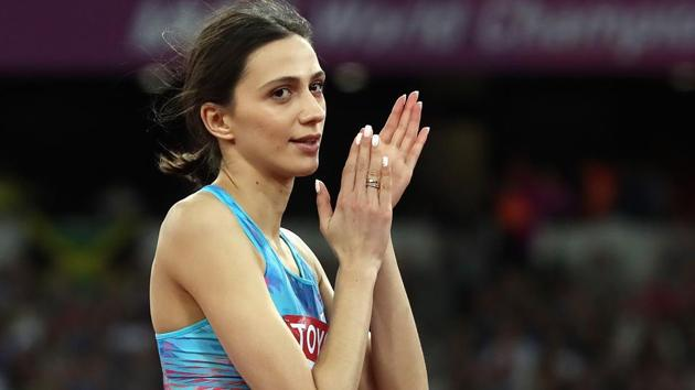 IAAF clears Mariya Lasitskene and 17 other Russian athletes to compete in  2018 - Hindustan Times