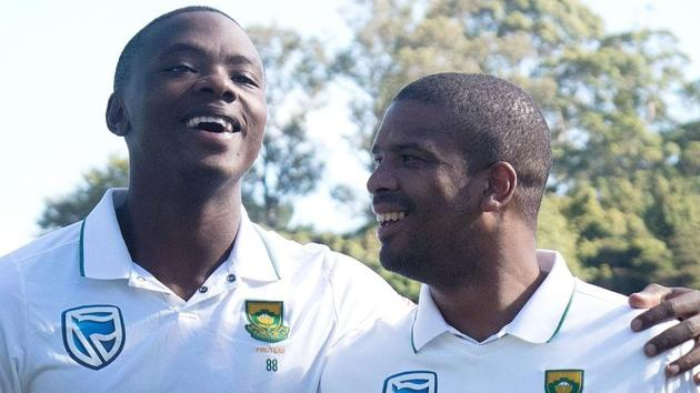 Kagiso Rabada and Vernon Philander took a total of 30 wickets in South Africa's 2-1 Test series over India.(Twitter)