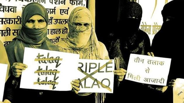 The Rajya Sabha is due to take up the triple talaq bill for discussion during the Budget session.(File Photo)