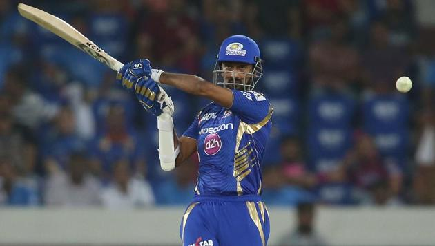 Krunal Pandya was one of the stars of Mumbai Indians' title win in the 2017 edition of the Indian Premier League.(BCCI)