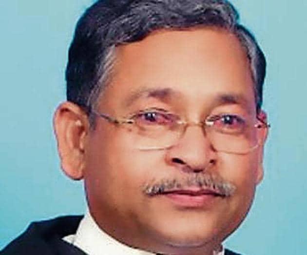 Allahabad high court judge Shri Narayan Shukla.(File)