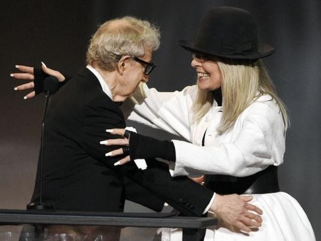 A file photo of Diane Keaton and Woody Allen.