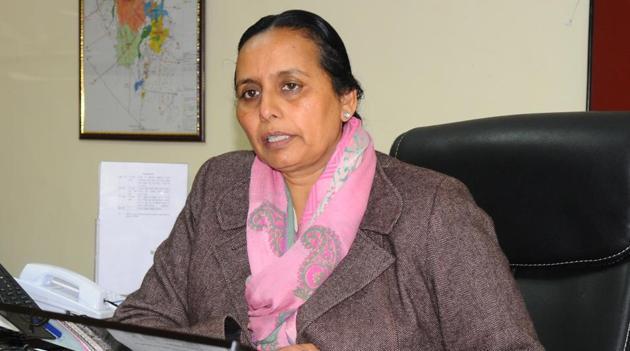 Deputy commissioner Gurpreet Kaur Sapra.(HT File)