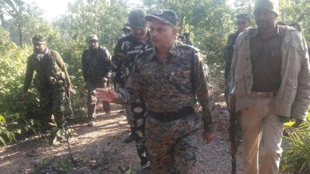 Security forces gunned down a top Maoist leader in an encounter in Jharkhand's Latehar district on Thursday night.(HT file photo)