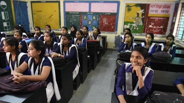 As part of the curriculum, teachers will create a situation where students can talk about feelings of students on issues such as peer pressure, exam pressure, expectation from family and bullying.(Saumya Khandelwal/HT File)