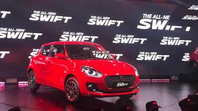 The all-new Maruti Swift.