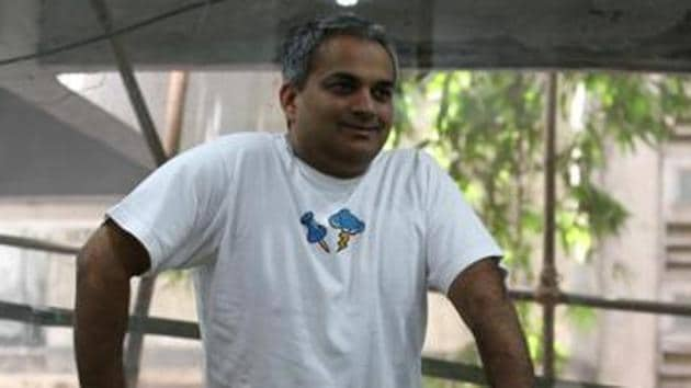 File photo of Mahesh Murthy who was arrested in Mumbai on Friday.(HT)