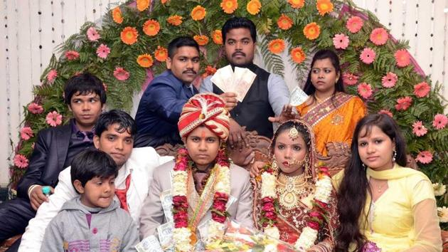 Krishna Sen, alias Sweety Sen pretended to be a man to marry two women and allegedly tortured one of them for dowry.(HT Photo)