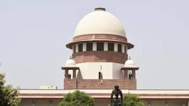 File photo of the Supreme Court building in New Delhi.(Sonu Mehta/HT Photo)