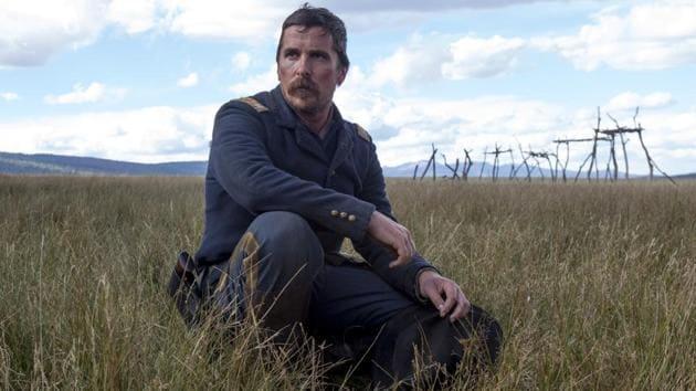 Christian Bale wrestles with morality in Scott Cooper's Hostiles.