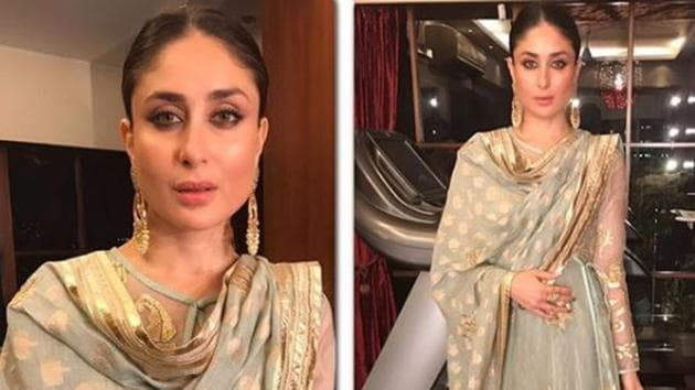 Kareena Kapoor is every bit the begum as she steps out for friend. See