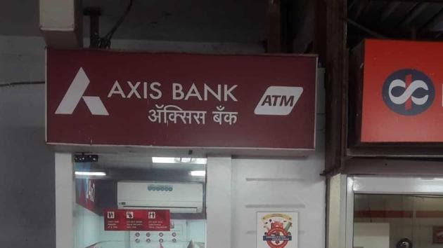The ATM on Charni Road which was tampered with.(HT File)