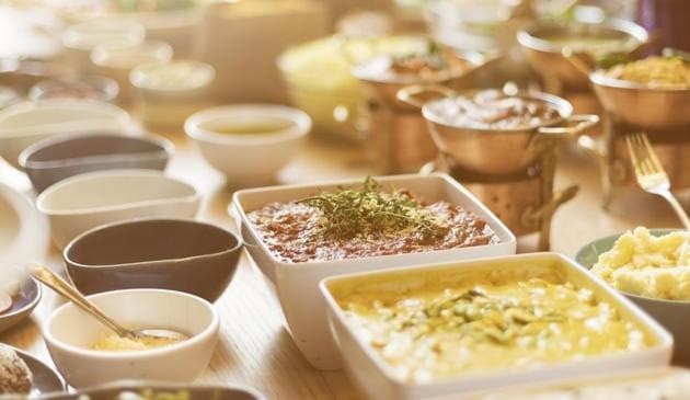An average Indian family puts away almost half of its total spending on food items, data from the fourth round of National Family and Health Survey reveals(Thinkstock)