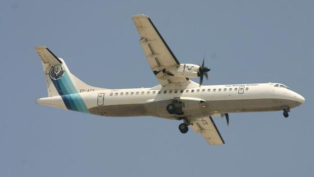 A twin-engined turboprop ATR-72 Aseman Airlines plane that crashed in central Iran is seen in Dubai, United Arab Emirates. The ATR-72 twin-engine plane, in service since 1993, flew early Sunday from Mehrabad airport towards the city of Yasuj, some 500 kilometres to the south.The plane's emergency locator transmitter was reportedly not functioning, which added to the difficulty in locating the wreckage. (REUTERS)