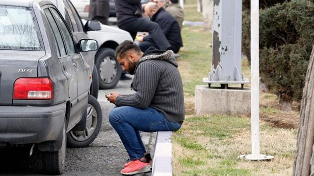 """For the relatives of passengers feared dead in the accident, it has been an agonising waiting period. Iran's President Hassan Rouhani in a statement said the incident brought """"great grief and sorrow."""" (Atta Kenare / AFP)"""