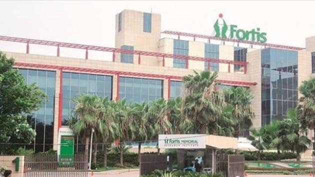 The surgery was carried out at the Fortis Hospital in Vasant Kunj.(HT File Photo)