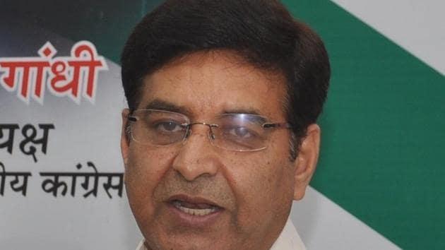 Uttarakhand Congress chief Pritam Singh.(HT PHOTO)
