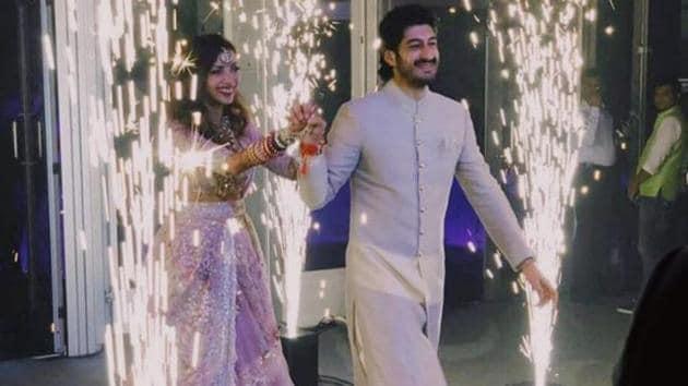 Mohit Marwah has acted in films like Fugly and Raagdesh. He married girlfriend Antara in Dubai.