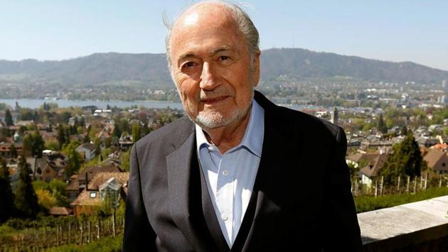 Sepp Blatter said that Morocco is the 'natural choice' to host the 2026 FIFA World Cup.(REUTERS)