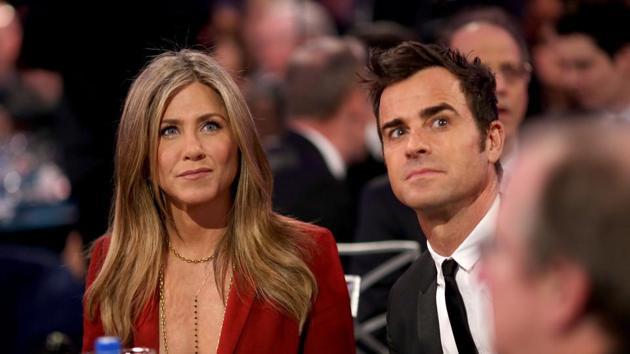 Jennifer Aniston and Justin Theroux are separating after two years of marriage, they said in a statement to AFP on Thursday, February 15, 2018.(AFP)