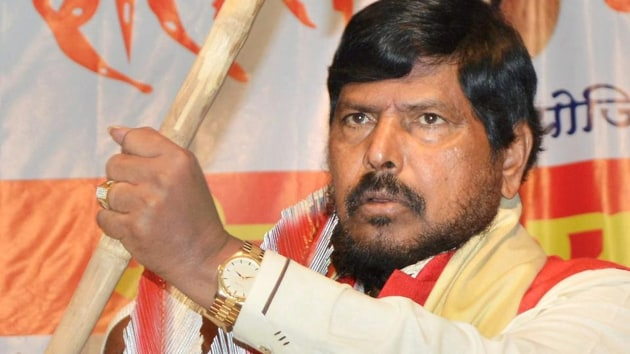 Union minister of state for social justice and empowerment Ramdas Athawale.