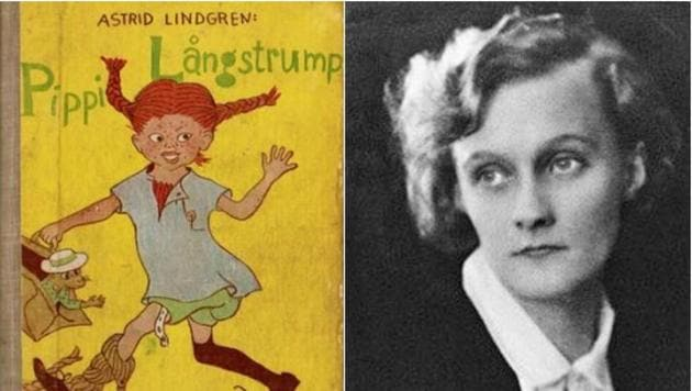 Astrid Lindgren is best known for her children's books featuring the red-haired, superstrong girl Pippi Longstocking.(Wikimedia Commons)