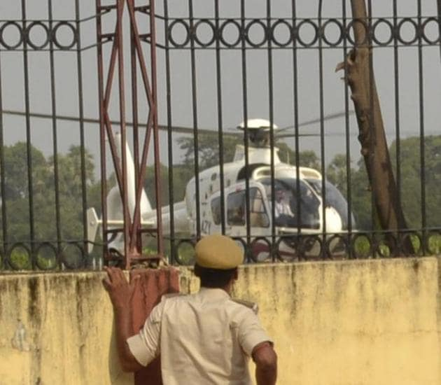 The air intelligence unit will keep close watch on visitors coming from different states for poll related work and those hiring choppers for campaigning.(File photo)