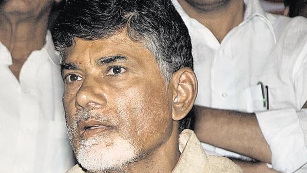 Telugu Desam P arty president N Chandrababu Naidu(Sonu Mehta/HT File Photo)