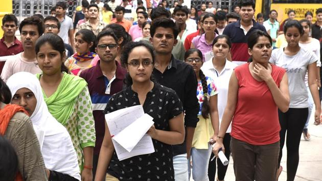Medical aspirants had challenged the CBSE's decision to fix the upper age limit as 25 for general category students appearing in NEET 2018.(HT File Photo)