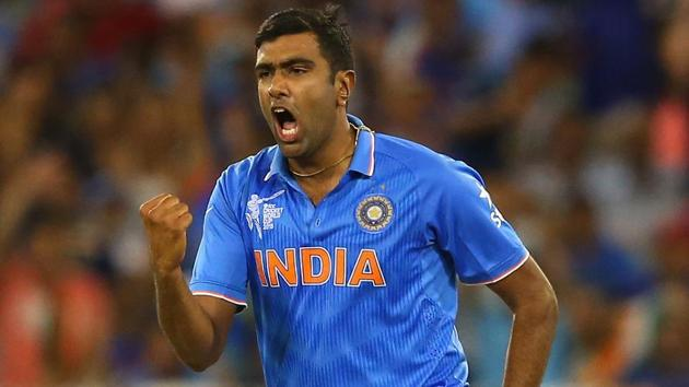Ravichandran Ashwin had earlier taken issue with a Herschelle Gibbs tweet where the latter had mocked his lack of pace.(Getty Images)