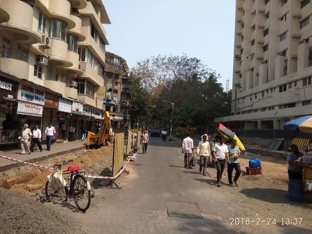 Civic officials said the one-way lane of Bombay Hospital will be widened to two-way(HT)