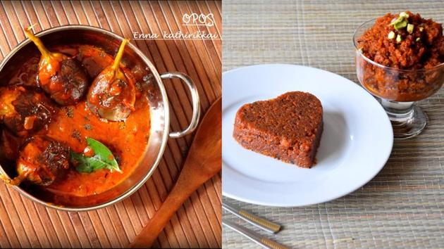 Try these three mouth-watering recipes from north Indian and south Indian kitchens.(B Ramakrishnan)