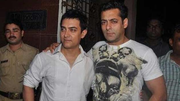 Salman Khan reveals that when he started working on Maine Pyaar Kiya, Aamir Khan's stardom was on his mind.
