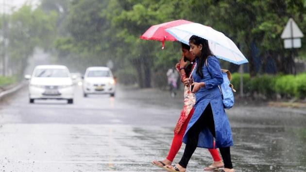 The rain has brought with it some much-needed relief.(HT File)