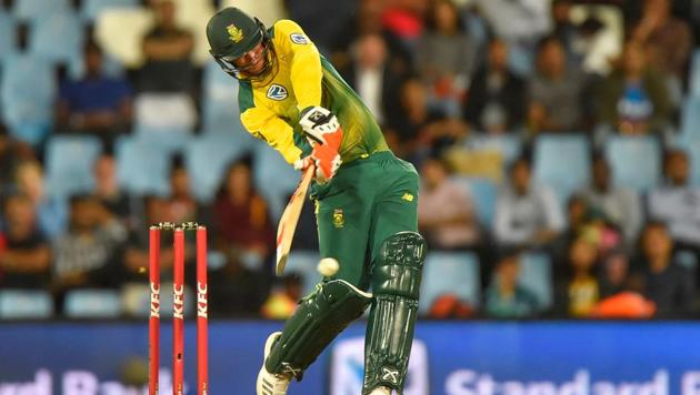 South Africa's Heinrich Klaasen impressed with his explosive batting against the limited overs series vs India.(AFP)