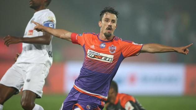 FC Pune City face FC Goa in a crucial Indian Super League match on Sunday.(ISL)