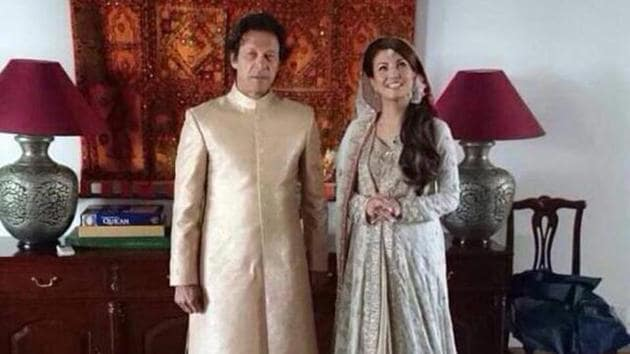 Imran Khan, cricketer-turned-politician, tied the knot with his second wife, former BBC journalist Reham Khan.(Twitter)